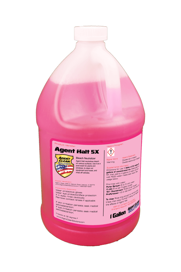 Agent Halt 5x Concentrate - 1 Gallon